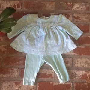 Other - Green baby top and leggings